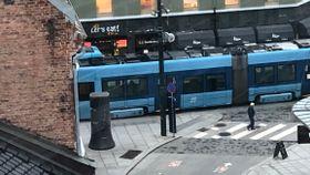 Oslo: Strømbrudd onsdag morgen skaper trøbbel for trikkene