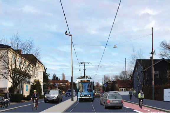 10.000 biler må finne andre veier i halvannet år når Grefsenveien skal bli slik