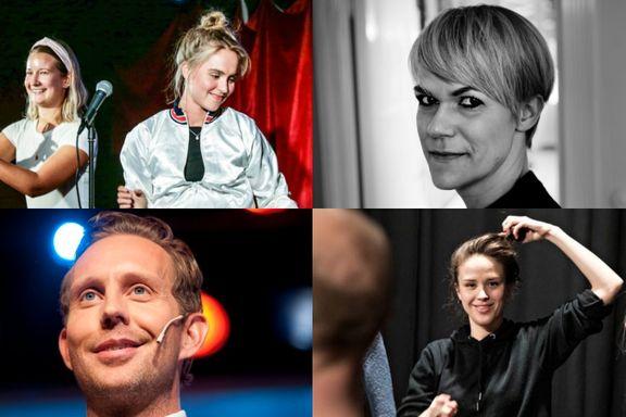 «Humor-Norge er i ferd med å gå lenger enn blogg, selvsensur og uforberedte vitser.  Det er bare å glede seg.»
