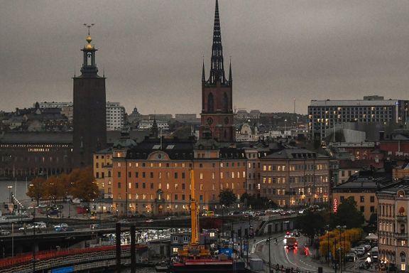 Meteorologene mener de vet hvorfor Stockholm var mørklagti går