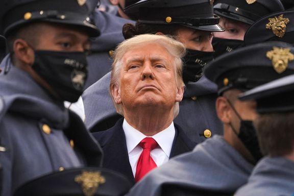 Trump diskuterte mulig militærkupp med nylig benådet eksgeneral