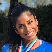Da Nina (33) vant EM-gull, var kun kjæresten til stede