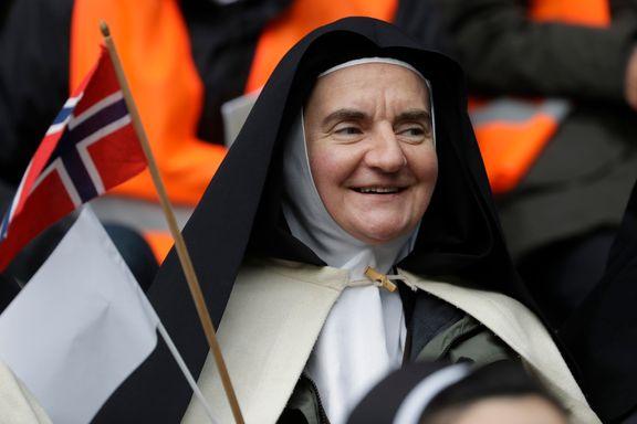 Paven holdt stadionmesse for 18.000 i Malmö
