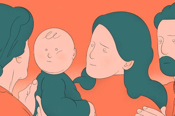 Hun vokste opp med en psykisk syk mor. Hvert møte er en påminnelse om den vonde barndommen.