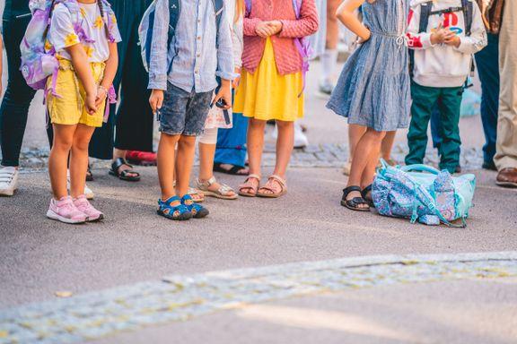 Ett koronaspørsmål er ubesvart ved skolestart
