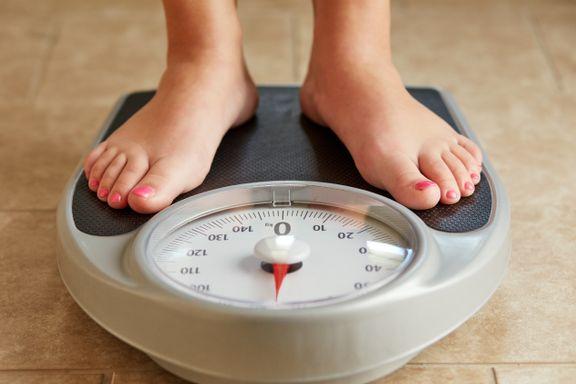 Da vi skulle bli veid på skolen, snakket mange om vekten sin. Det var om å gjøre å veie minst.