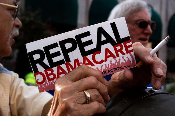 Republikanernes Obamacare-alternativ møter motstand i egne rekker