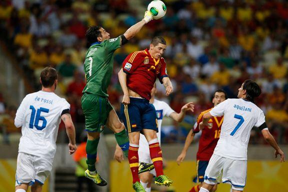 Spania til finale etter straffedrama mot Italia