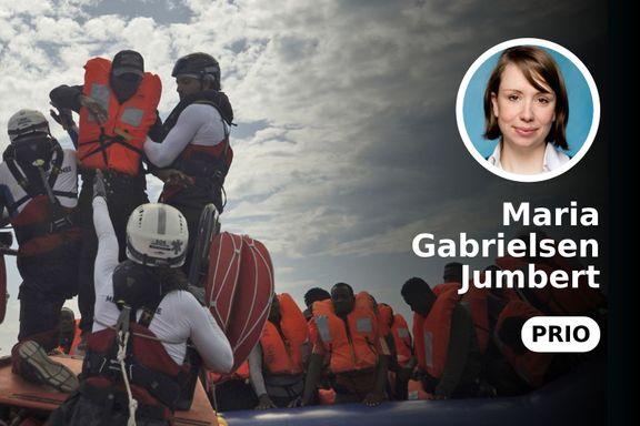 Å hindre redningsskipenes arbeid vil ikke redde flere migranter