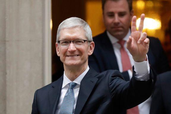 Apple-sjefen: - Falske nyheter dreper folks forstand