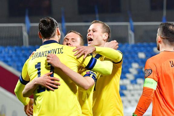 Sverige svever høyt etter ny seier mot Kosovo