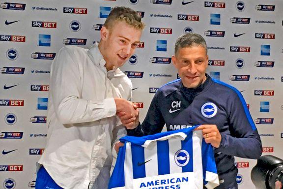 Henrik Bjørdal tilbake i Brighton i dag