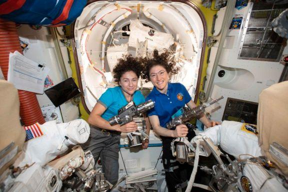 Kvinnelige astronauter skaper historie