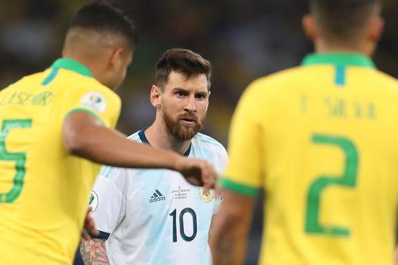 Brasil stoppet Argentinas titteljakt i Copa America