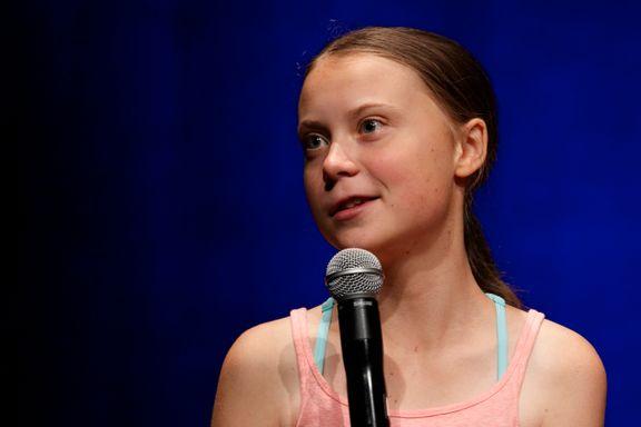 Greta Thunberg gir ut to bøker i USA