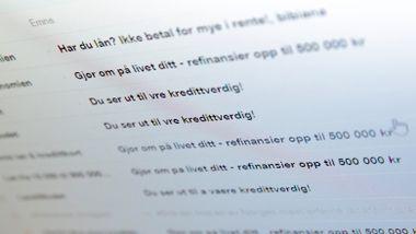 Nye regler skulle få slutt på det. Men nå hagler det inn med dyre lånetilbud på e-post.