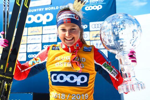 Ingvild Flugstad Østberg vant verdenscupen for første gang: – Jeg skal sove med ledertrøyen
