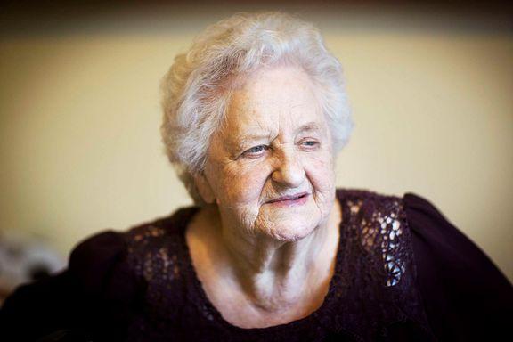 Byrådet legger ned sykehjem: Inger Johanne Pedersen (96) må flytte på dagers varsel