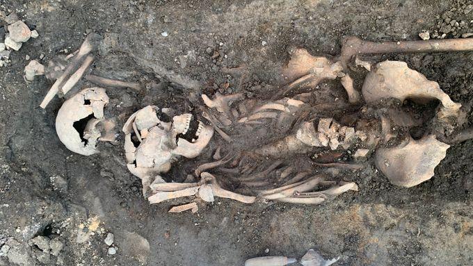 Gamle skjeletter funnet i Oslo - kan være massegrav etter krig