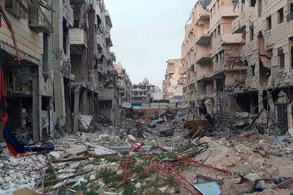 Øst-Ghoutas siste opprørsgruppe forlater sin tidligere bastion