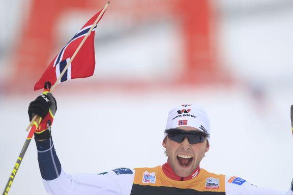 Riiber viste klasse - sikret dobbelt norsk i prøve-VM