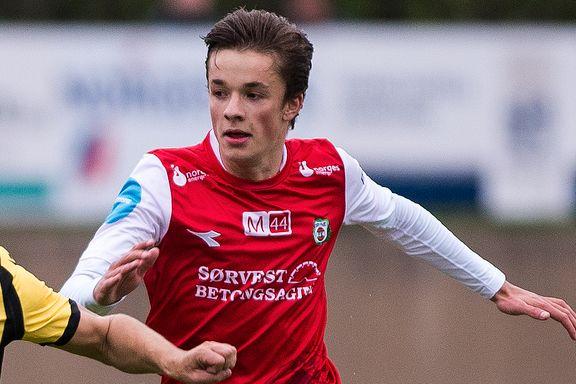 18-åring scoret to da Bryne kollapset på hjemmebane