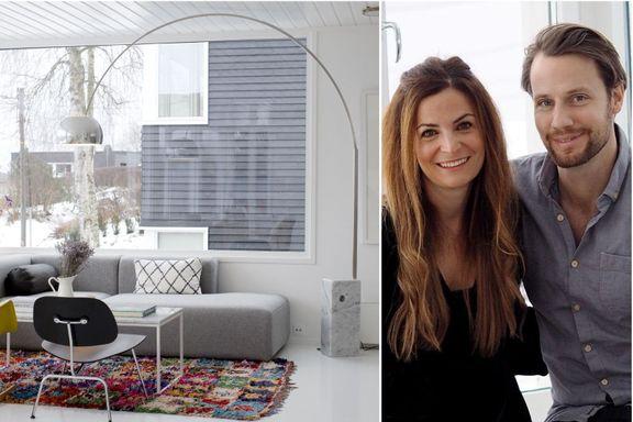 Canadiske Tracy ble forelsket i skandinavisk design da hun møtte ektemannen Ola