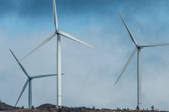 Norge kan halvere klimautslipp med flere vindmøller
