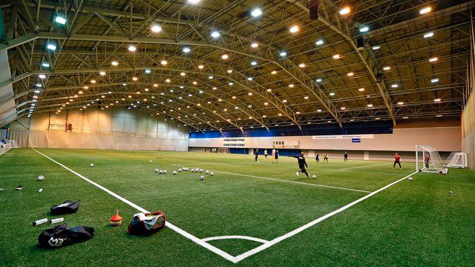 Kretsen vil bygge ny fotballhall – men har fått et problem