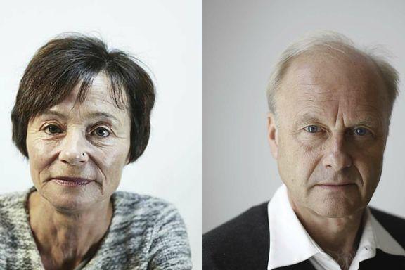 Finn Skårderud og Hege Storhaug møttes for å snakke om livet