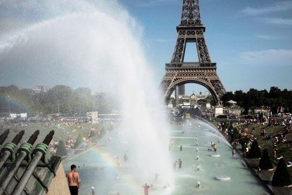 EUs klimabyrå: Juli var den varmeste måneden som noensinne er registrert