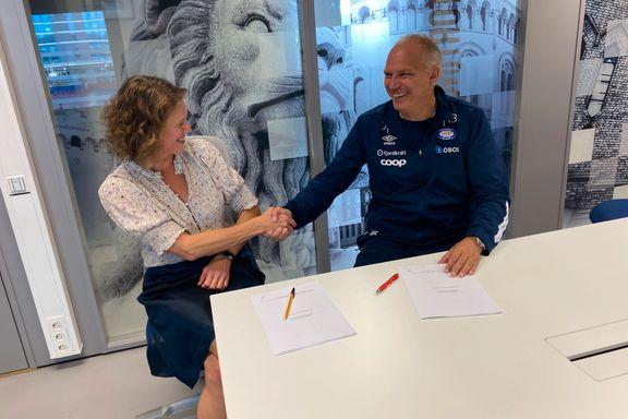 Her signerer Fagermo VIF-forlengelse til 2024 – seriegull er målet