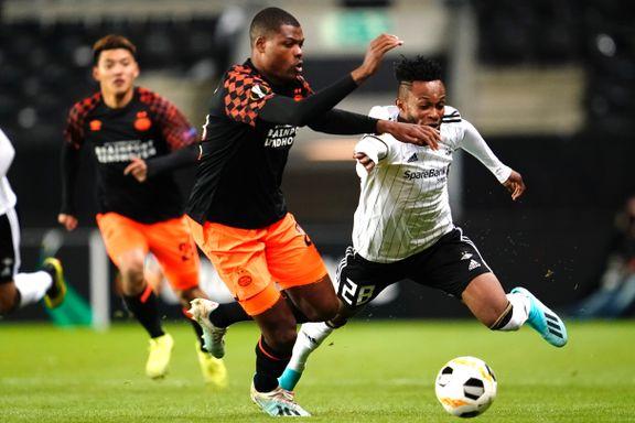 Rosenborg får juling på hjemmebane