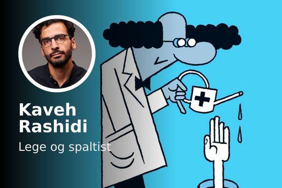 Kaveh Rashidi: Hvordan skal jeg utøve yrket, når hvert eneste valg kan vise seg å være galskap?