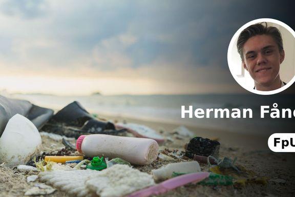 Regjeringen går i bresjen for å forhindre marin forsøpling