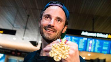 VM-helten avslører: Ladet opp med filmmaraton før bragden