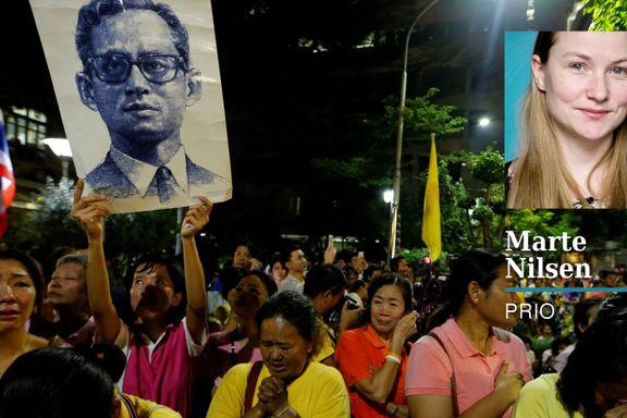 Thailand kommer nå til å preges av sorg og rå maktkamp