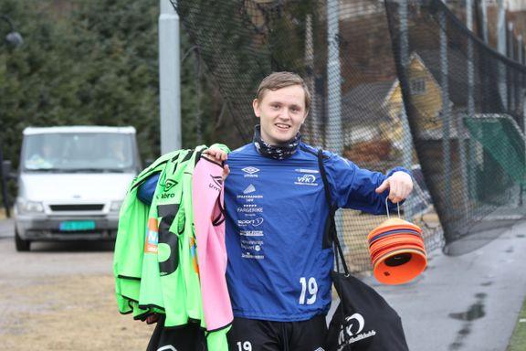 17-åring imponerer for Vindbjart: – Han har alt som skal til for å bli en toppspiller