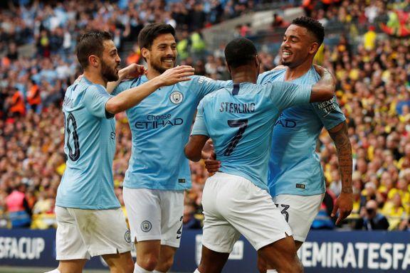 Historiske City herjet i FA Cup-finalen – første laget til å ta «den engelske trippelen»