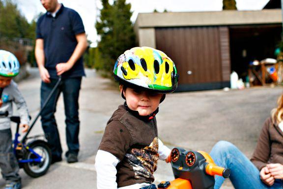 Trygg Trafikk bekymret over slurv med sykkelhjelmer