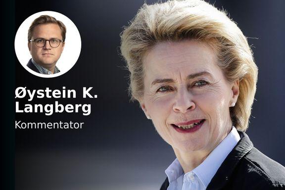 Hun blir EUs nye leder. Norge bør juble.