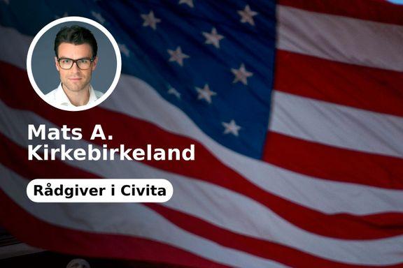 Tallene som viser at norske medier tegner et altfor negativt bilde av USA