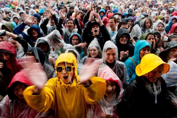 Slik blir været under Øyafestivalen
