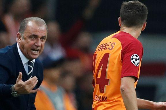 Linnes spilte hele kampen for Galatasaray i Champions League