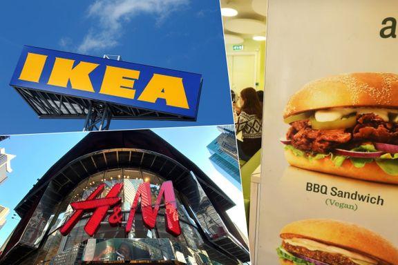 Ikea og H&M i klimakrangel med Max Burger