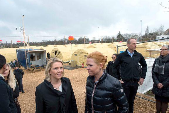 Dansk minister tok med Listhaug på skrytetur til asylleir - nå har sjefen fått sparken etter trussel-avsløringer