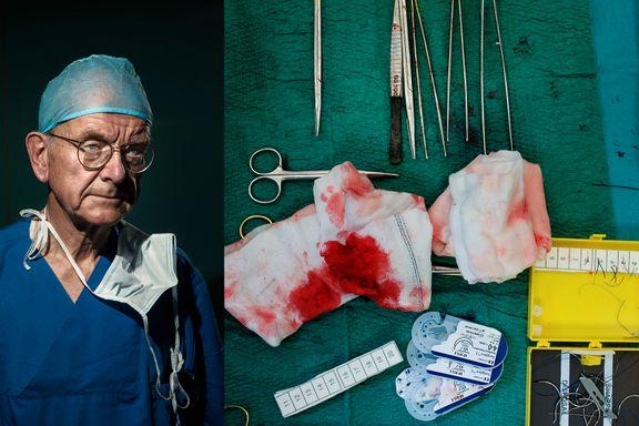 Denne legen er kalt «kirurgiens Knausgård» for måten han åpent snakker om sine feil.