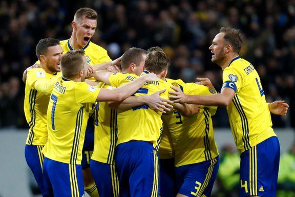 Sverige rystet Italia: Nå er de 90 minutter fra VM