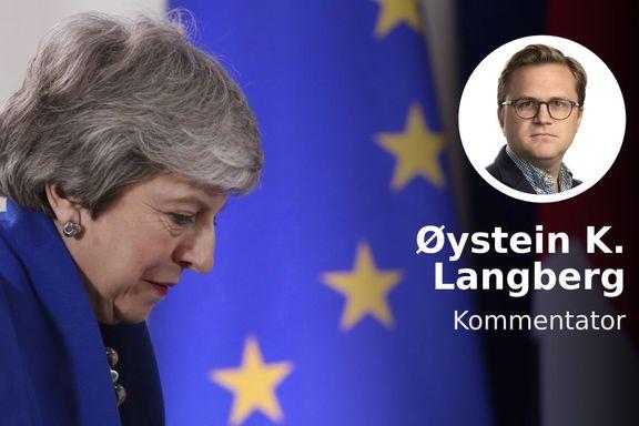 Det absurde er blitt en realitet. Nå gjør britene seg klar for EU-valg.