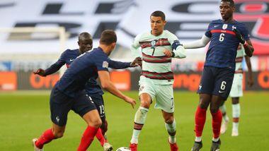 Frankrikes seiersrekke stoppet i gigantduell